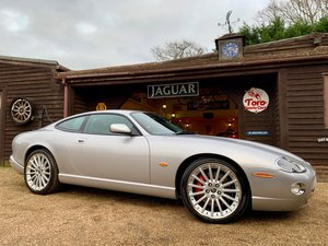 2004 JAGUAR XKR 4.2 CARBON FIBRE EDITION SOLD
