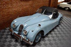 1956 Jaguar XK 140 MC Roadster = LHD All Blue Clean $109.5k