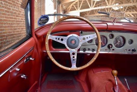 1958 Jaguar XK150 3.4 Liter Roadster = Grey(~)Red $125k For Sale (picture 5 of 6)