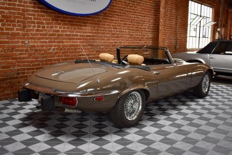 1974 Jaguar E Type Series III V-12 Roadster = Manual Brown $68.5k For Sale (picture 2 of 6)