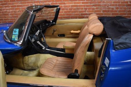 1973 Jaguar E Type Roadster = Manual Blue(~)Tan $64.5k For Sale (picture 3 of 6)