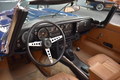 1973 Jaguar E Type Roadster = Manual Blue(~)Tan $64.5k For Sale (picture 4 of 6)
