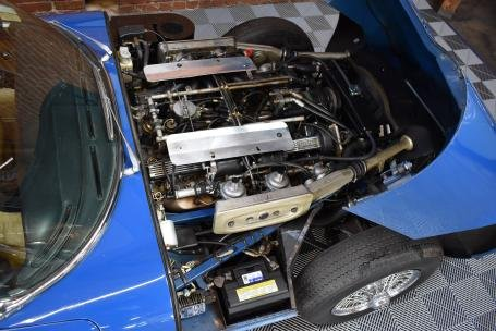 1973 Jaguar E Type Roadster = Manual Blue(~)Tan $64.5k For Sale (picture 5 of 6)