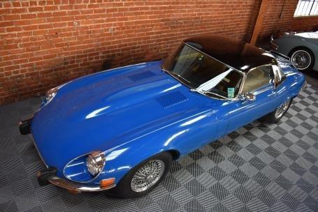 1973 Jaguar E Type Roadster = Manual Blue(~)Tan $64.5k For Sale (picture 6 of 6)