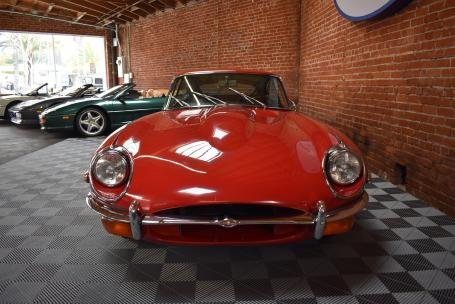 1969 Jaguar XKE Series II 4.2L Fixed Head Coupe = Red $49.5k For Sale (picture 1 of 6)