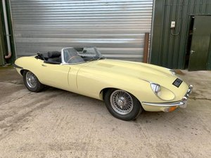 1969 Jaguar E-Type 4.2 Roadster For Sale by Auction