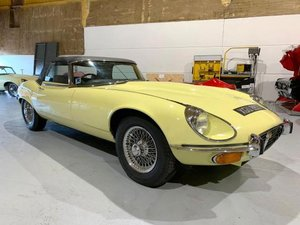 1974 Jaguar E-Type V12 Roadster For Sale by Auction
