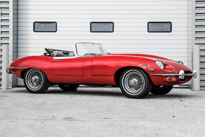 1969 Jaguar E-Type SII Roadster Manual LHD Project