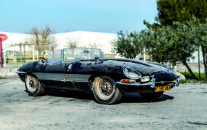 Jaguar E-Type 3.8 Roadster Flat Floors 1961