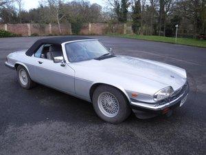 **MARCH AUCTION** 1989 Jaguar XJS For Sale by Auction