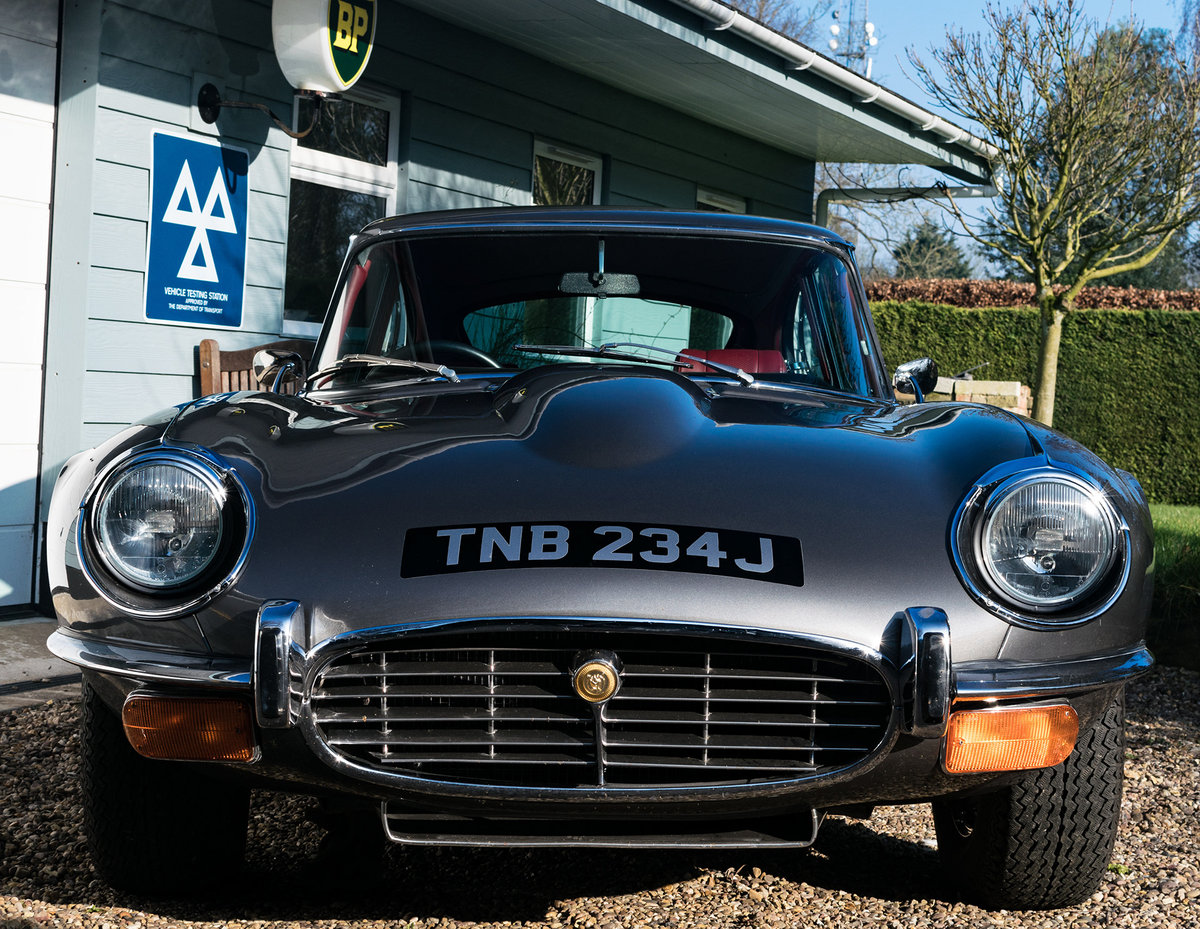 1971 Immaculate Jaguar E-Type Series 3, V12 5 speed/man For Sale (picture 1 of 6)