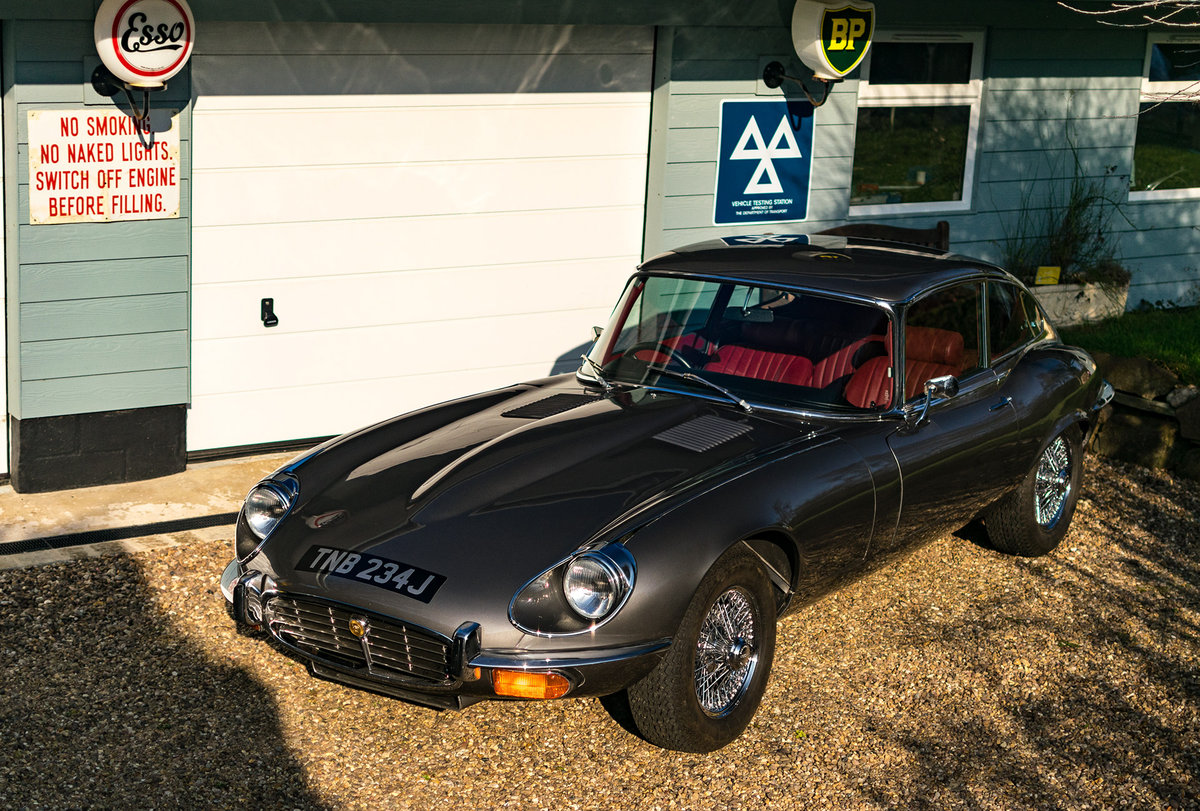 1971 Immaculate Jaguar E-Type Series 3, V12 5 speed/man For Sale (picture 3 of 6)