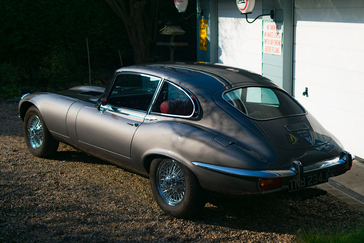 1971 Immaculate Jaguar E-Type Series 3, V12 5 speed/man SOLD (picture 4 of 6)
