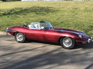 E Type 4.2 Series 2 Comvertible LHD 1970 Manual. For Sale