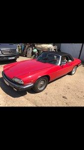 Jaguar Xjs convertible v12 1988