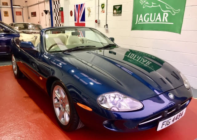 1996 Jaguar XK8 Auto Convertible - Ultimate Showroom Condition! For Sale (picture 1 of 6)