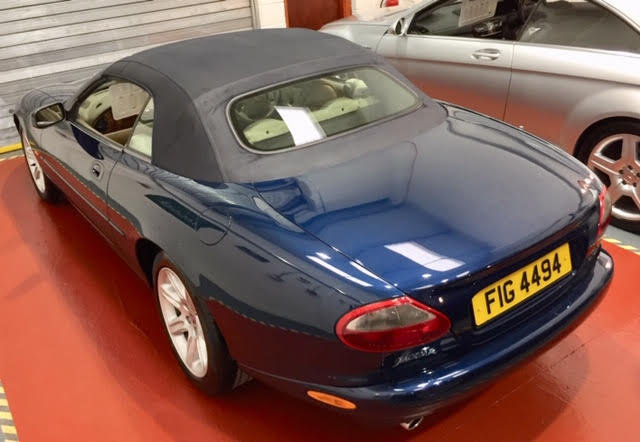 1996 Jaguar XK8 Auto Convertible - Ultimate Showroom Condition! For Sale (picture 5 of 6)