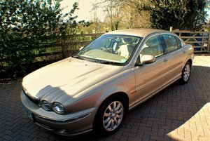 2002 Immaculate very low mileage Jaguar Xtype 2.5  SOLD