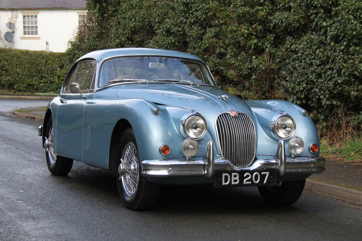 1960 Jaguar XK 150, Matching No's, UK upgraded car  SOLD (picture 1 of 12)