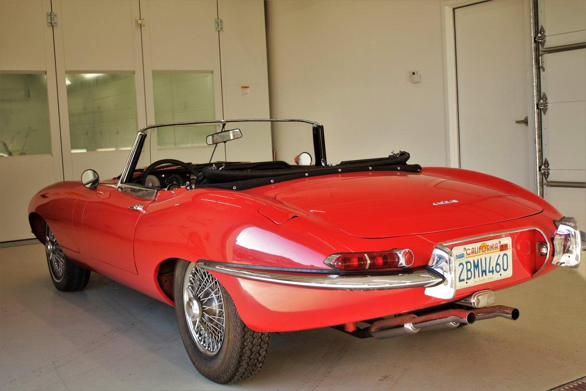 1962 Jaguar XKE Roadster Flat Floor SOLD (picture 1 of 5)