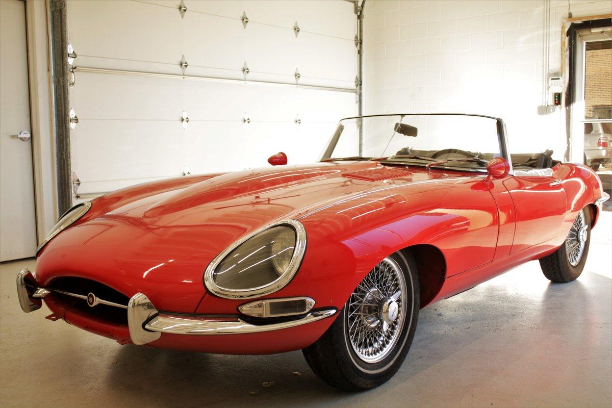 1962 Jaguar XKE Roadster Flat Floor SOLD (picture 5 of 5)