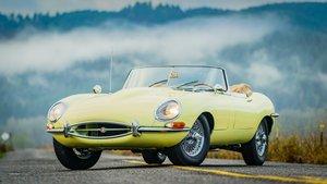 1966 Jaguar XKE Roadster = Restored Yellow 64k miles $129k