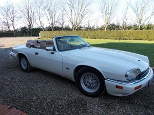 LHD 1994 JAGUAR XJ-S 4.0 CONVERTIBLE. LEFT HAND DRIVE For Sale
