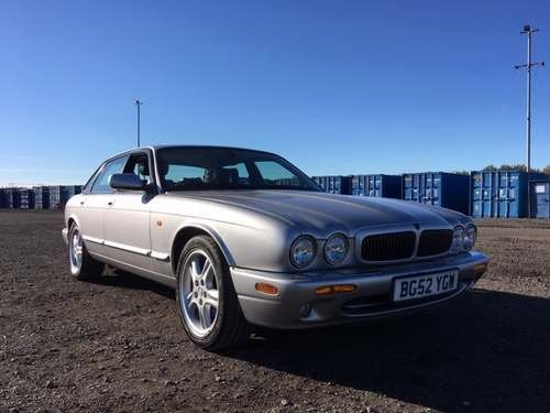 2002 Jaguar XJ Sport V8 Auto at Morris Leslie Auction 25th May SOLD by Auction (picture 1 of 4)