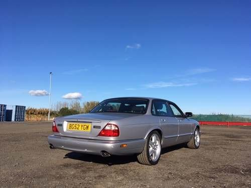 2002 Jaguar XJ Sport V8 Auto at Morris Leslie Auction 25th May SOLD by Auction (picture 2 of 4)