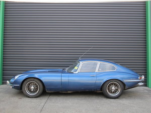 Jaguar E-Type S1 FHC RHD 1967 For Restoration For Sale
