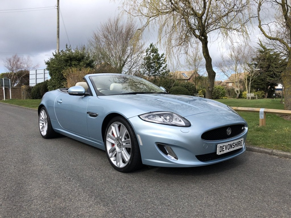 2011 Jaguar XKR 5.0 V8 Supercharged Convertible ONLY 19000 MILES For Sale (picture 1 of 6)