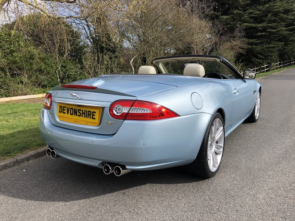 2011 Jaguar XKR 5.0 V8 Supercharged Convertible ONLY 19000 MILES For Sale (picture 2 of 6)