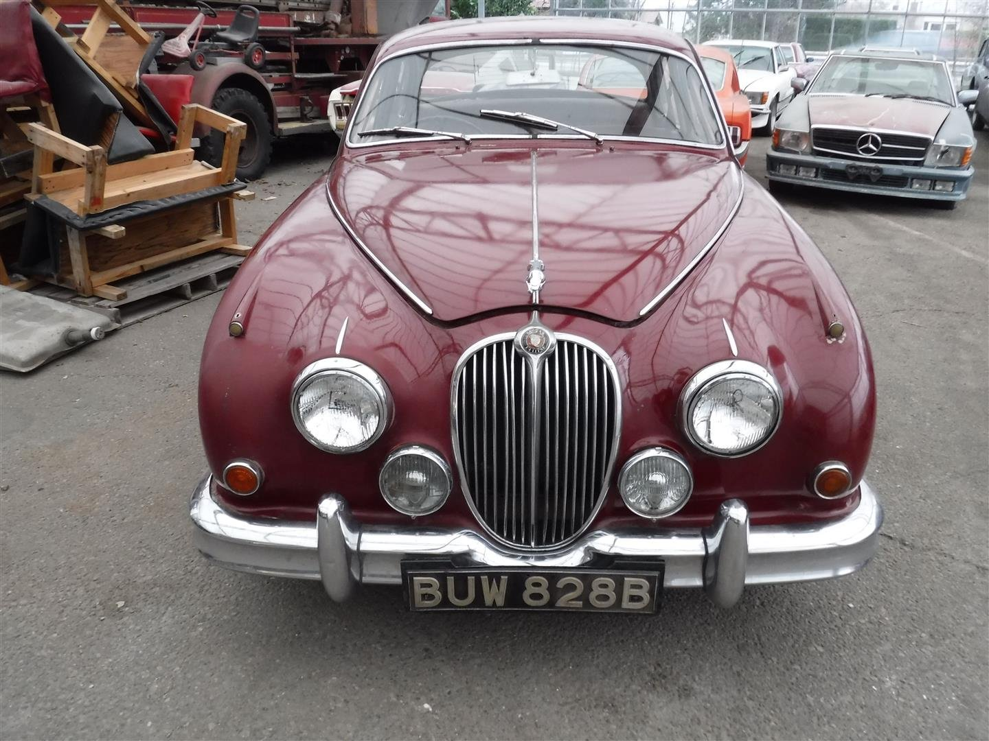 1965 Jaguar MK2  6cil.  RHD For Sale (picture 1 of 6)