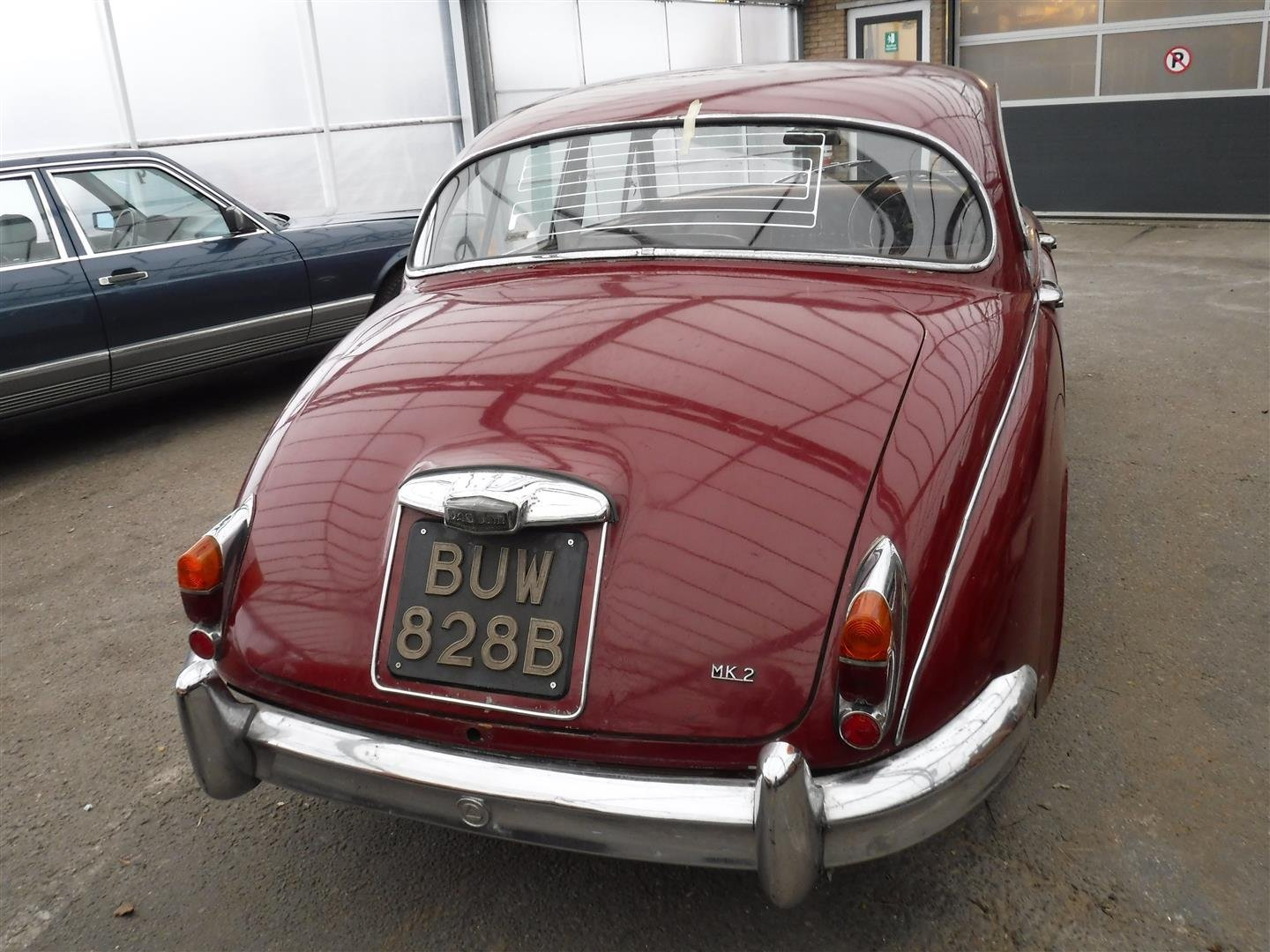 1965 Jaguar MK2  6cil.  RHD For Sale (picture 2 of 6)