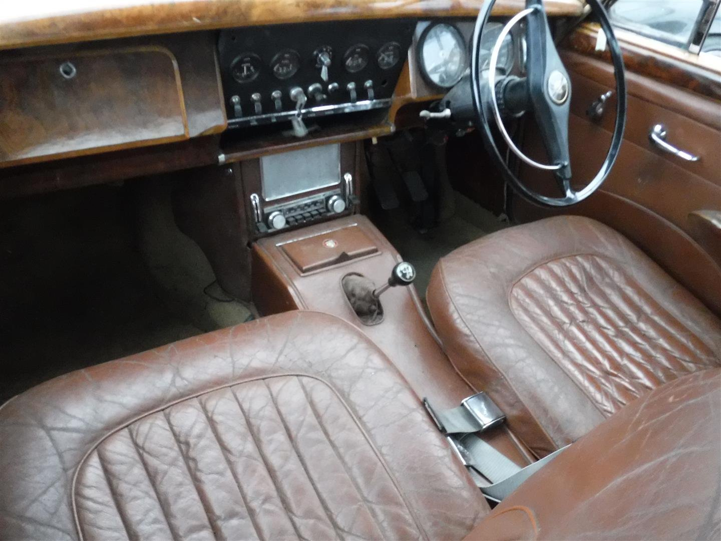 1965 Jaguar MK2  6cil.  RHD For Sale (picture 3 of 6)