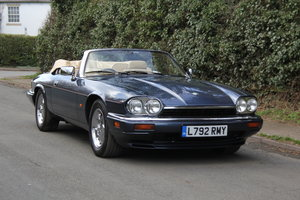 1994 Jaguar XJS 4.0 Convertible - 58k miles from new SOLD