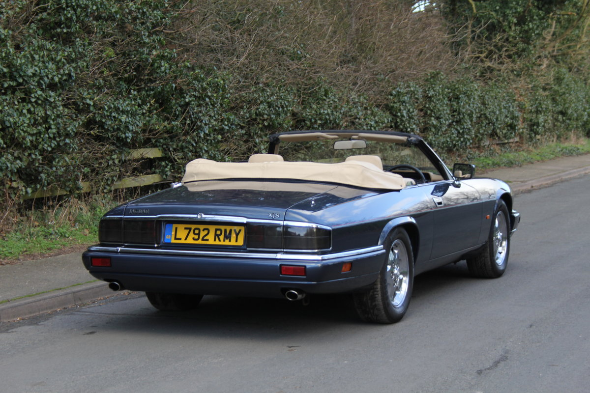 1994 Jaguar XJS 4.0 Convertible - 58k miles from new SOLD (picture 4 of 12)