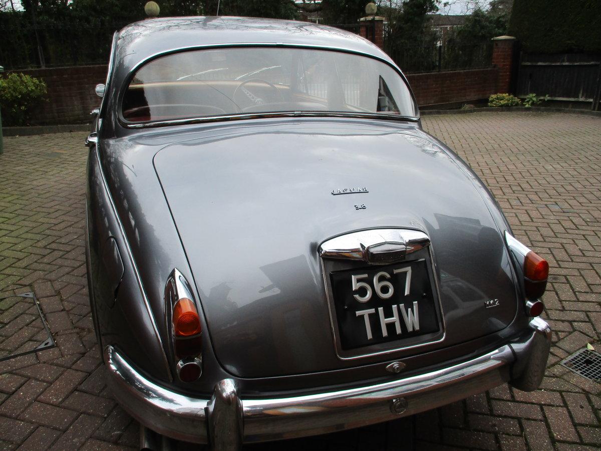 1963 Jaguar MK 2 3.8 Manual/OD  Stunning Car For Sale (picture 10 of 12)