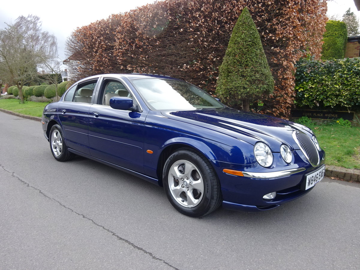 JAGUAR S-TYPE 3.0Ltr SE 2000  40,000 miles only SOLD (picture 1 of 6)