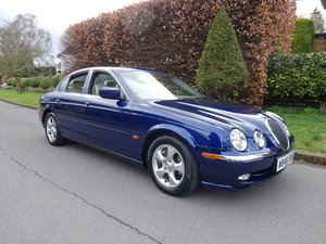 JAGUAR S-TYPE 3.0Ltr SE 2000  40,000 miles only SOLD