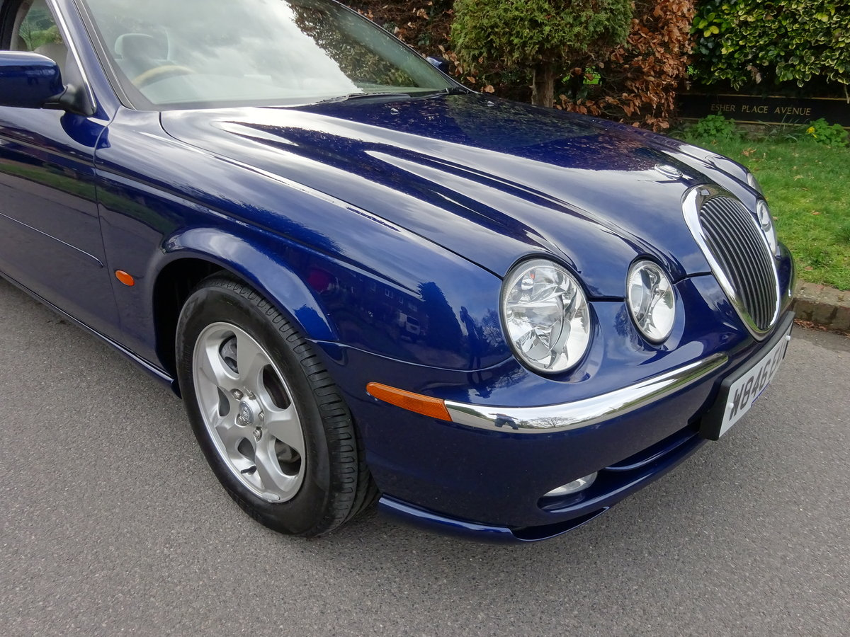 JAGUAR S-TYPE 3.0Ltr SE 2000  40,000 miles only SOLD (picture 2 of 6)