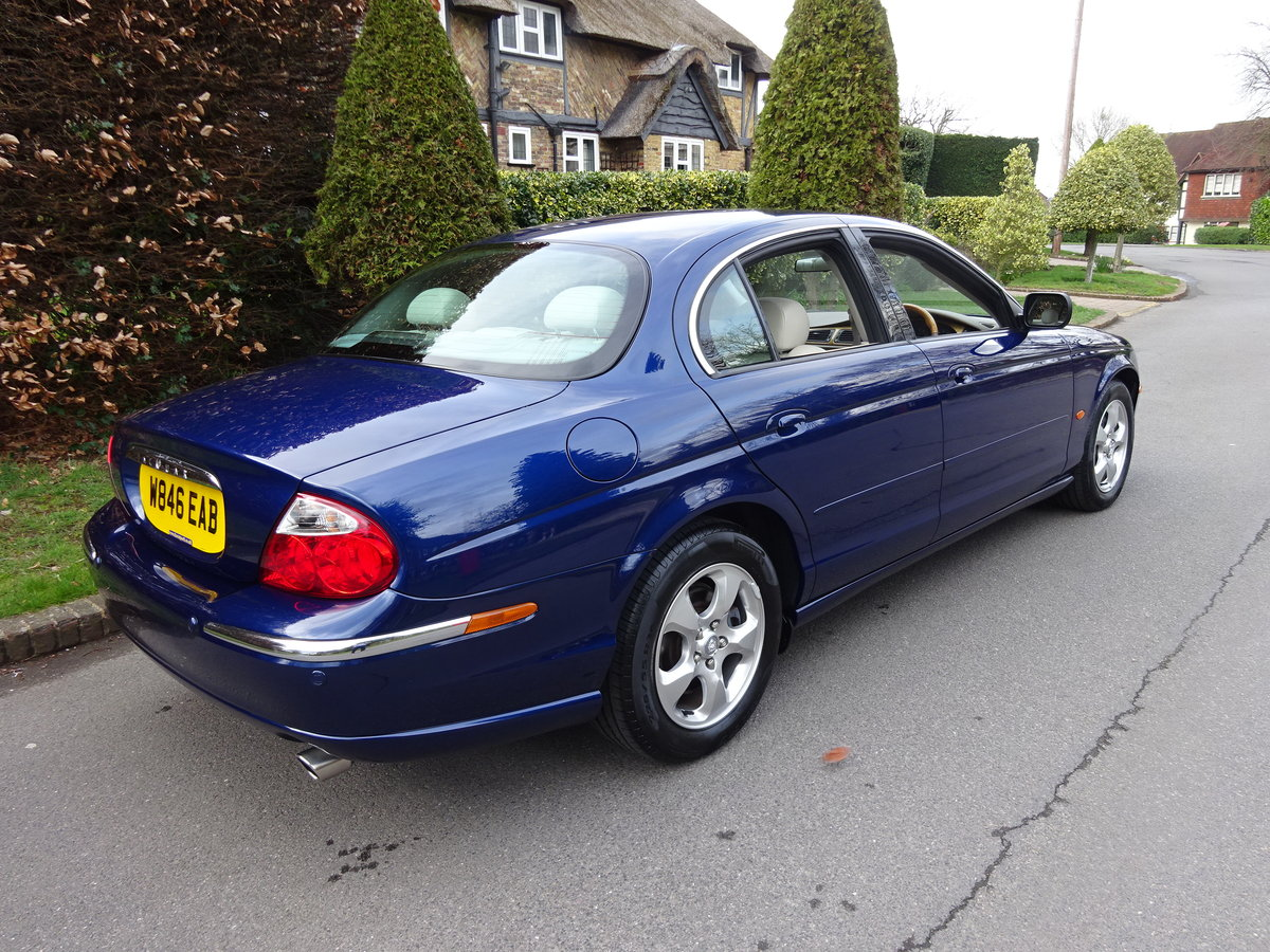 JAGUAR S-TYPE 3.0Ltr SE 2000  40,000 miles only SOLD (picture 3 of 6)