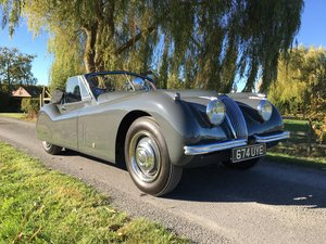1953 Jaguar XK 120 DH Coupe For Sale