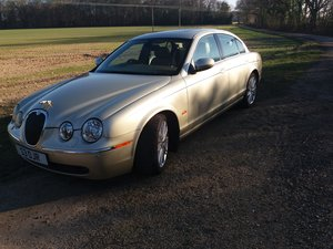 2006 Excellent S Type Jaguar many factory extras fitted