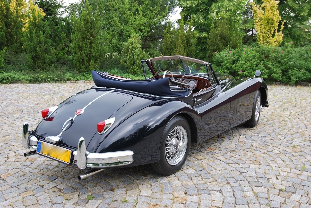 1955 Jaguar XK140DHC with C Type Head LHD For Sale (picture 2 of 6)