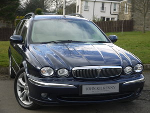 2007 JAGUAR X-TYPE 2.2 Sovereign estate **1 owner** FULL JAGUAR S