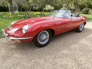1968 Jaguar E Type Convertible classic car hire For Hire
