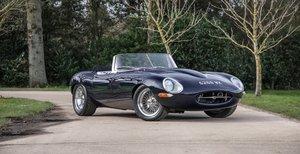 1963 Jaguar E-Type Series 1 4.7 Litre Semi-Lightweight Roadster For Sale