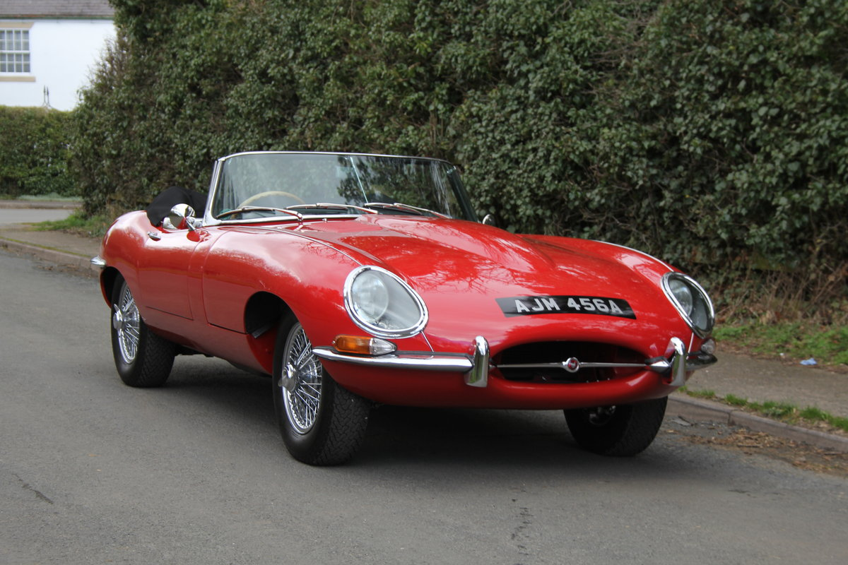 1963 Jaguar E-Type Series I 3.8 Roadster SOLD (picture 1 of 12)