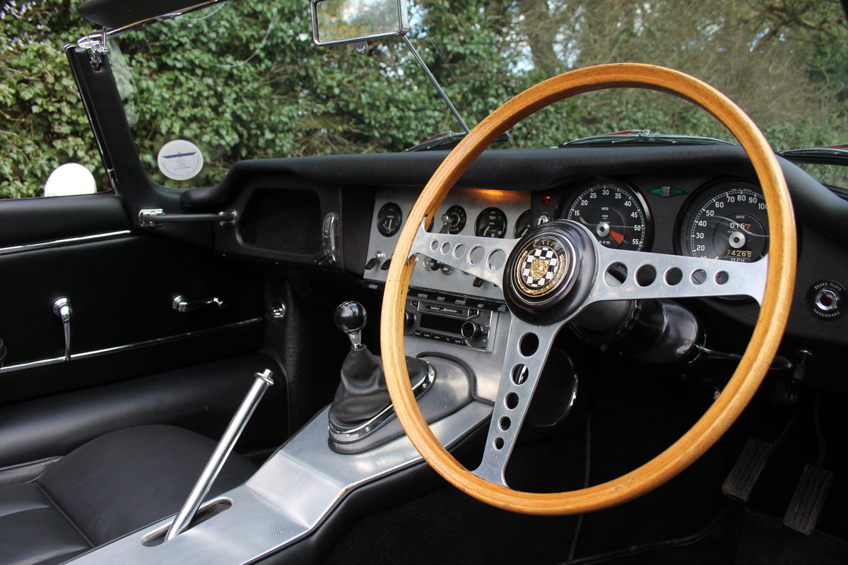 1963 Jaguar E-Type Series I 3.8 Roadster SOLD (picture 7 of 12)